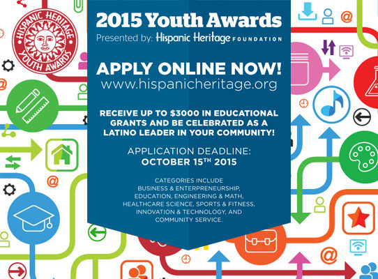 Youth Awards Application Now LIVE!