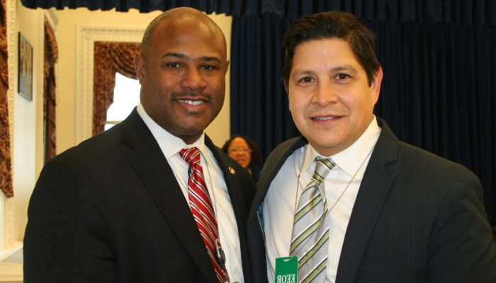 Sean Jones, OSTP, And Antonio Tijerino, President & CEO, HHF