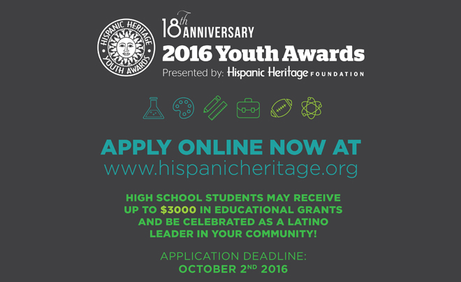 18th Annual Youth Award Application Opens!