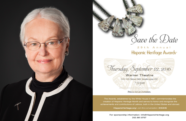 Dr. Diana Natalicio Honored By Hispanic Heritage Foundation