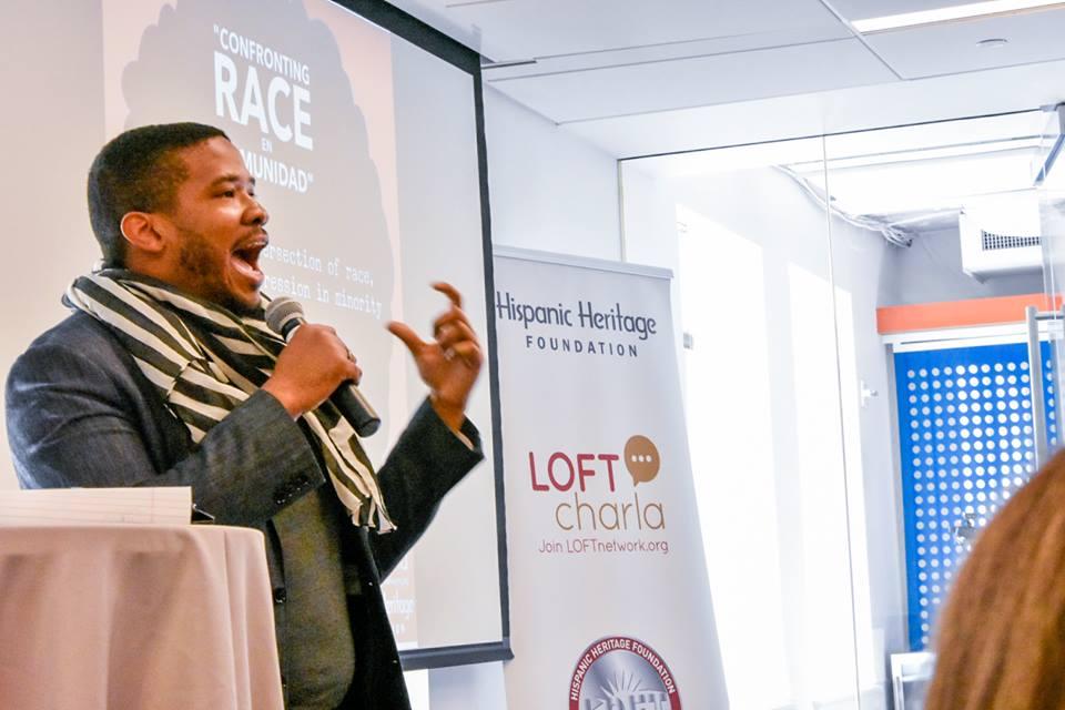 """LOFT Charla: """"Confronting Race En Comunidad"""""""