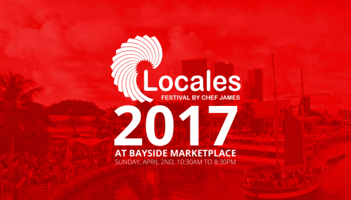 Locales Festival By Chef James In South Florida!