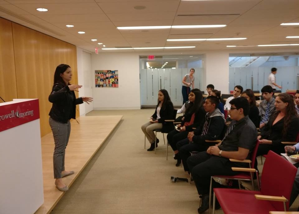 Ivy League Project Students Visit HHF!