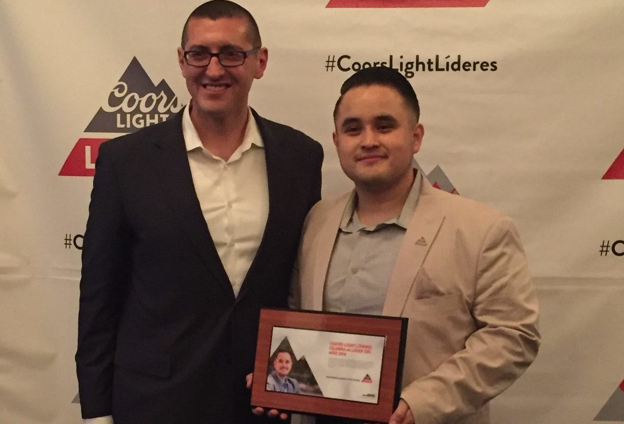 2016 Coors Light Líder Of The Year, Alberto Avalos!