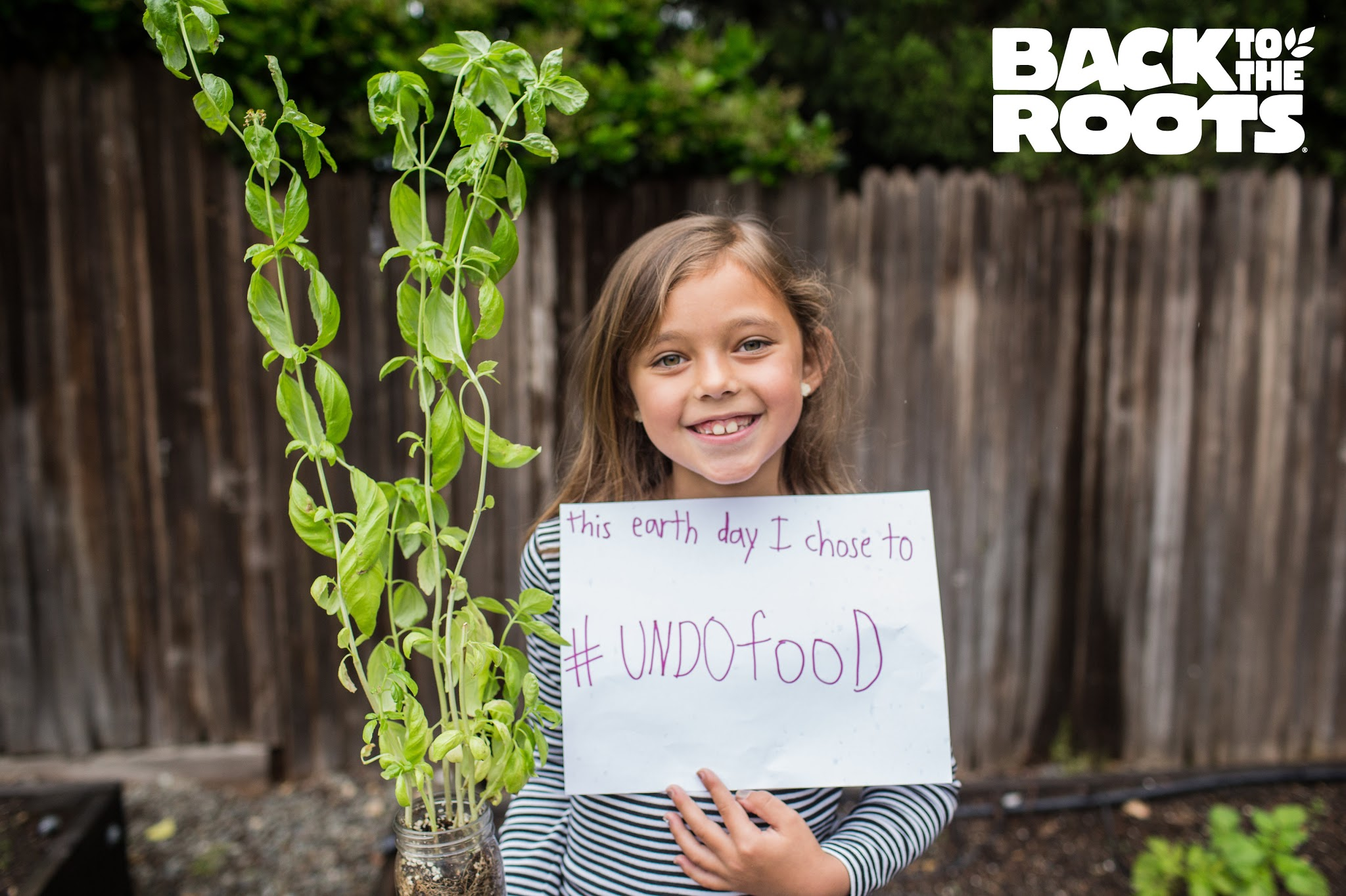 HHF & Back to the Roots #UndoFood on Earth Day!