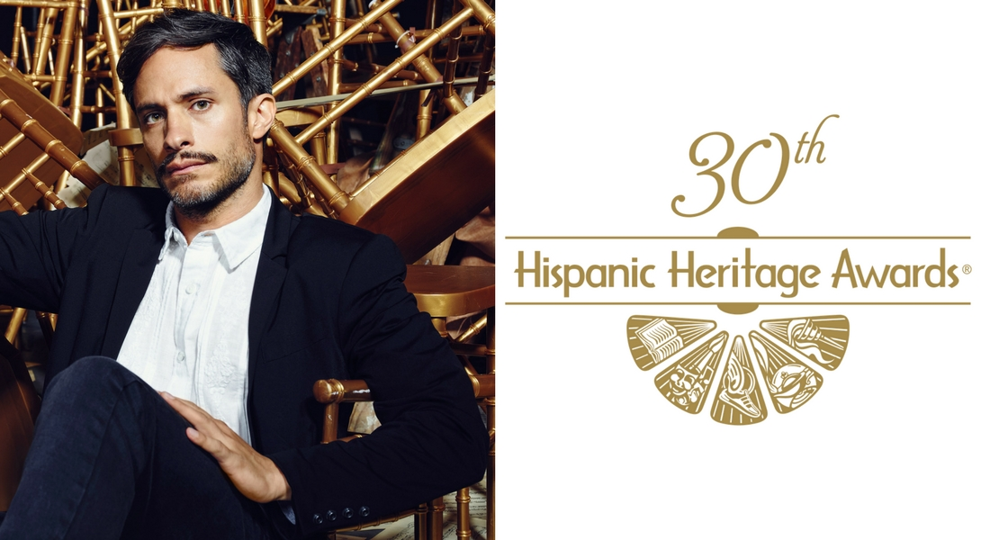 Gael García Bernal To Receive Vision Award At 30th Hispanic Heritage Awards