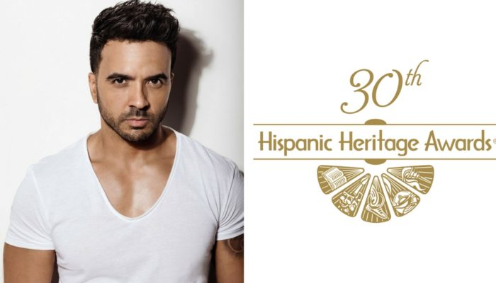 Luis Fonsi Awarded Special Trailblazer Award At 30th Hispanic Heritage Awards