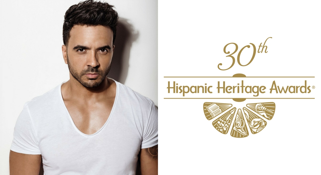 Luis Fonsi Awarded Special Trailblazer Award at 30th Hispanic Heritage Awards