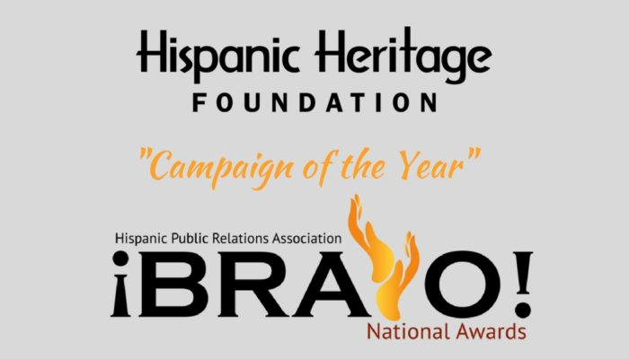 HHF Wins Campaign Of The Year (1)