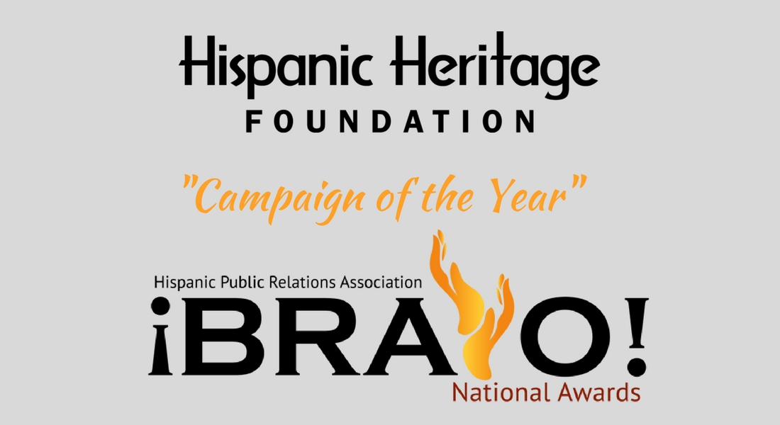 Hispanic PR Association !Bravo! Awards | HHF Wins Campaign of the Year