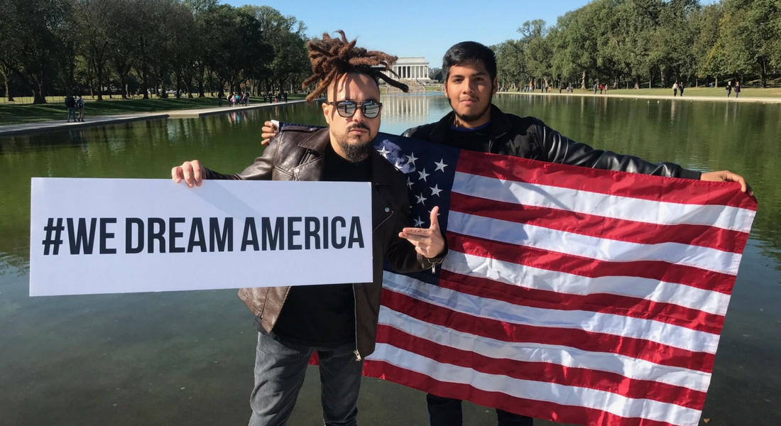 National Anthem Project Supports Dreamers | #WeDreamAmerica