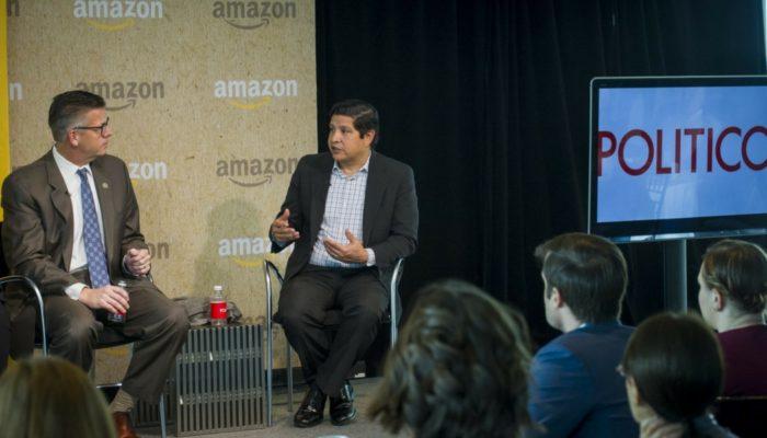 HHF's CEO Speaks @ Amazon & Politico's Future Of Work Summit