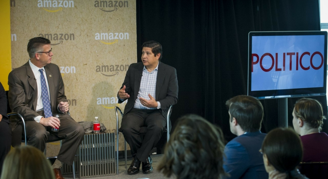 HHF's CEO Speaks @ Amazon & Politico's Future of Work Summit