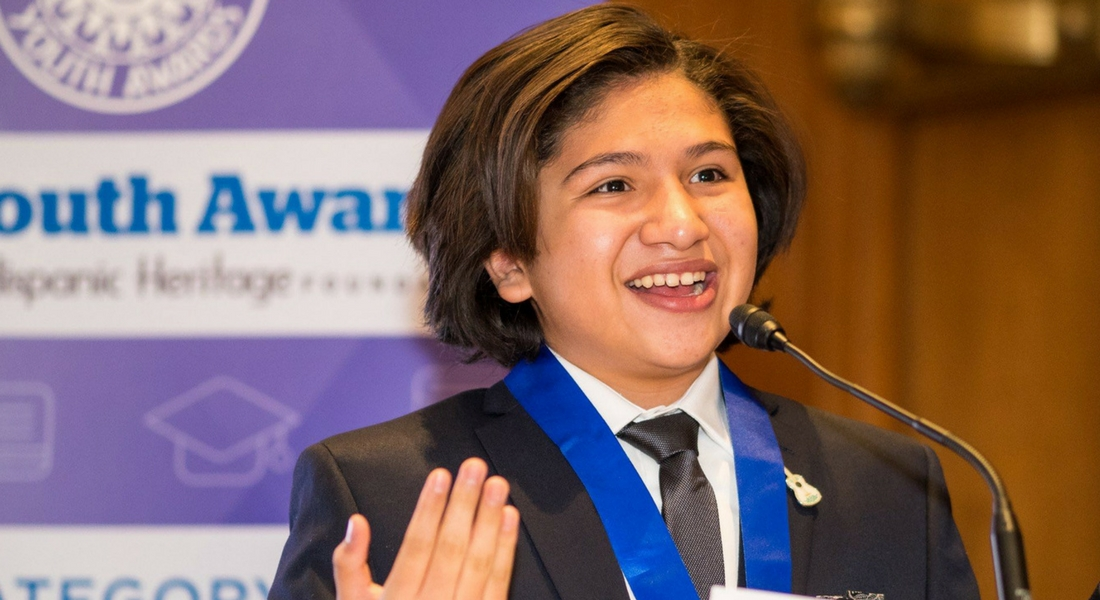 "Disney Pixars ""Coco"" star Anthony Gonzalez & Youth Awardees Honored on Capitol Hill"